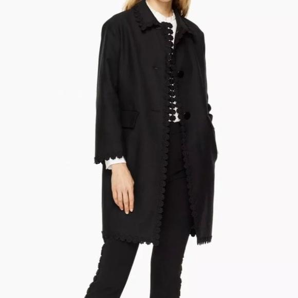 Kate Spade Black Coat